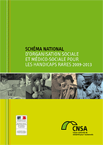 Couverture schéma national handicaps rares 2009-2013