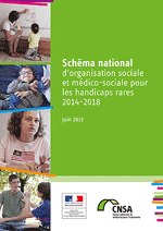 Couverture schéma national handicaps rares 2014-2018